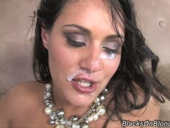 Charley Chase is treated to a warm filthy facial