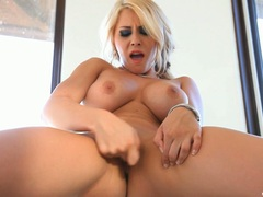 Madison Ivy torments her dripping wet cock pit