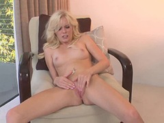 Kyleigh Ann fingers her tight wet pussy hole