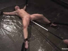 Whore Katja Kassin gets her dripping wet minge toyed