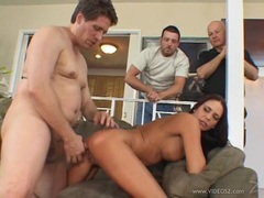 Whore Cheyenne Hunter is drilled up her dirt box