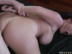 Spicy Sophie Dee gets drilled up her wet gash