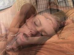 Trashy Jessica Rox devours her BFF's wet burrow