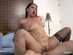 Amazing Vicky Chase gets rutted up her flange flaps