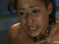 Alluring Skin Diamond has her wet snatched toy fucked