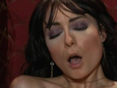 Arousing Zoe Voss lets Asa Akira lick her dripping slit