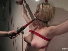 Rampant Fayth Deluca gets bound & punished
