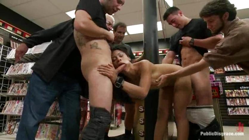 public disgrace cassandra cruz porno