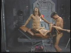 Tart Alex Dane gets pleasured by two pricks