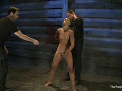 Tart Skin Diamond gets tormented as she fingers herself