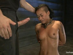 Blistering Skin Diamond slobbers on this skin flute
