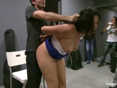 Blistering Princess Donna gets pounded up her flange