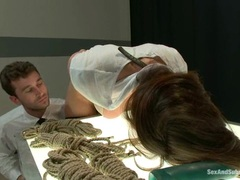 Whore Chanel Preston gets tied up & tormented