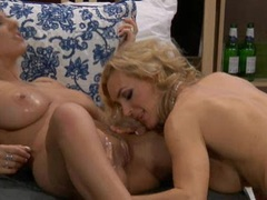 Lylith Lavey & Tanya Tate eat each other out