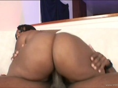 Voluptuous Skyy Black rides her snatch on a huge dick