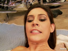 Whore Raylene gets her cunt licked out by Riley Jensen