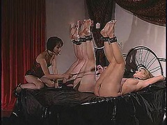 An ass whipping for Anastasia Pierce and friends