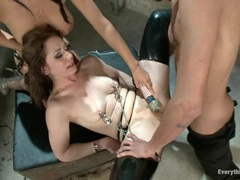 Clit vibing and an assful of cock for Sarah Shevon