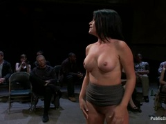 Horny Princess Donna teases this tart in public