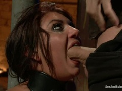 Sexy Cassandra Nix mouth fucks this tasty prick