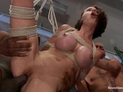Rampant whore Mckenzie Lee is slammed up her pink taco