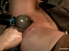 Amazing Charisma Capelli is tormented by a fist