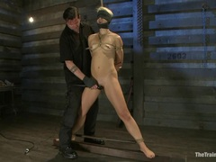 Horny Dylan Ryan gets bound & her pantie pot tormented