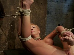 Amazing Kaylee Hilton is tied up & humiliated