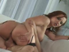 Blistering Katja Kassin is pounded up her wet slot
