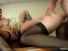 Naughty Lexi Swallow is dicked up her dripping slit