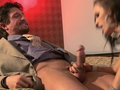 Jenna Presley gobbles down on this tasty prick