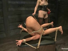 Horny Ariel Carmine is tormented by Bobbi Starr