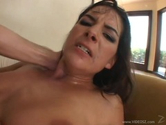 Wild Roxy Panther loves a hard double penetration
