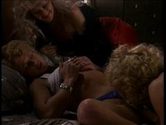 Rampant Nina Hartley has a sexy threesome