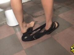 Blistering Ami Emerson finger fucks her wet pantie pot