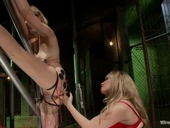 Sizzling Aiden Starr torments this babes wet snatch