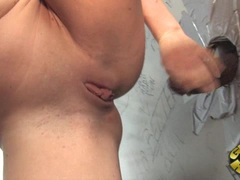 Alluring Krissy Lynn gets pounded up her pink taco