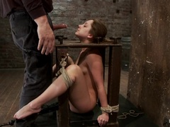 Alluring Remy La Croix gobbles down this hard dick
