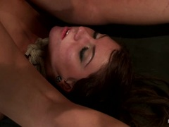 Sassy Cassandra Nix is tormented by Isis Love