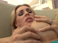 Awesome Tanya Tate is licked out by this hot hunk