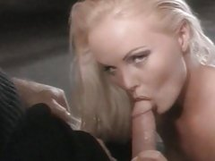 Blonde bombshell Sylvia Saint is plunged with prick