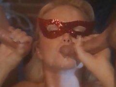 Two man fucking for sexy stunner Sylvia Saint
