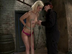 Raging Cherry Torn loves to get bound in her panties
