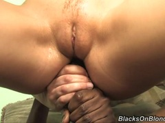 Babe Annette Schwarz is dicked up her brown eye