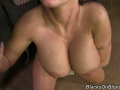 Saucy Jenna Presley gets drizzled in warm dick juice