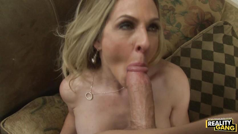 Huge tits mature fuck