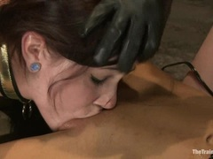 Ariel Carmine loves getting her moist clit nibbled