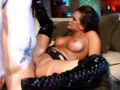 Tory Lane is ass fucked in her sexy boots