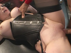 Mistress Aiden Starr gets her hot pussy pulverized