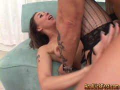 Delilah Strong enjoys getting her tight ass pulverized